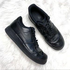 Nike AF1 Air Force Ones sneakers size 11 black